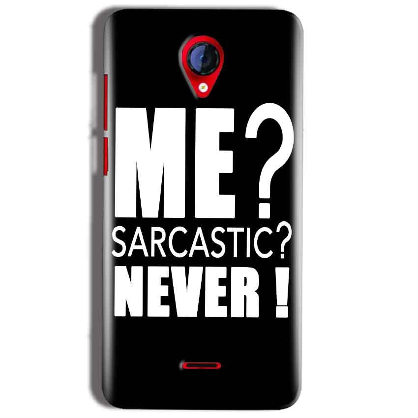 Micromax A106 Unite 2 Mobile Covers Cases Me sarcastic - Lowest Price - Paybydaddy.com