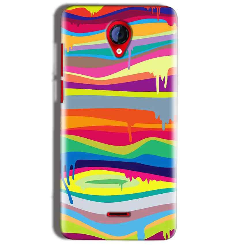 Micromax A106 Unite 2 Mobile Covers Cases Melted colours - Lowest Price - Paybydaddy.com