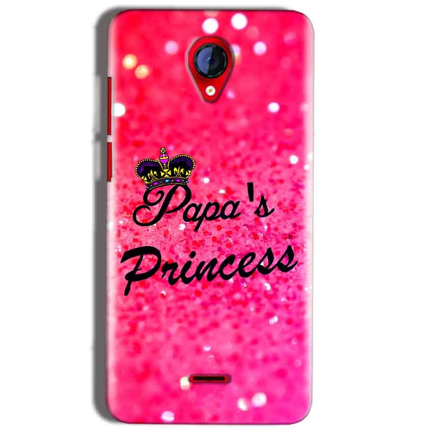 Micromax A106 Unite 2 Mobile Covers Cases PAPA PRINCESS - Lowest Price - Paybydaddy.com