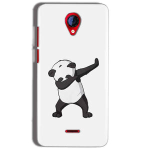 Micromax A106 Unite 2 Mobile Covers Cases Panda Dab - Lowest Price - Paybydaddy.com