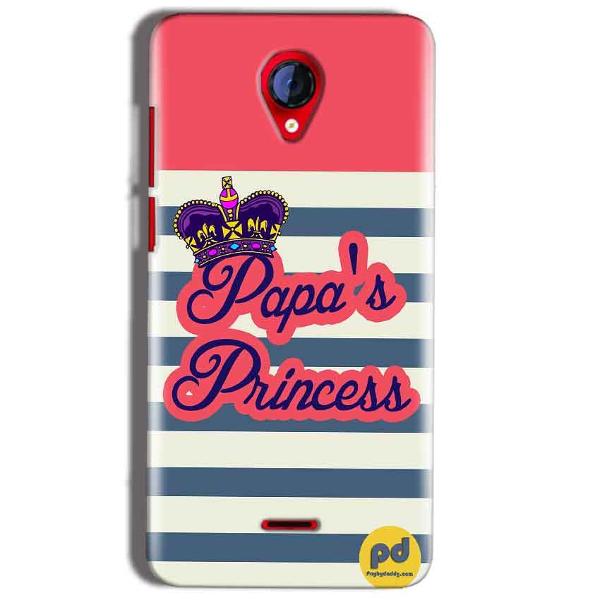 Micromax A106 Unite 2 Mobile Covers Cases Papas Princess - Lowest Price - Paybydaddy.com