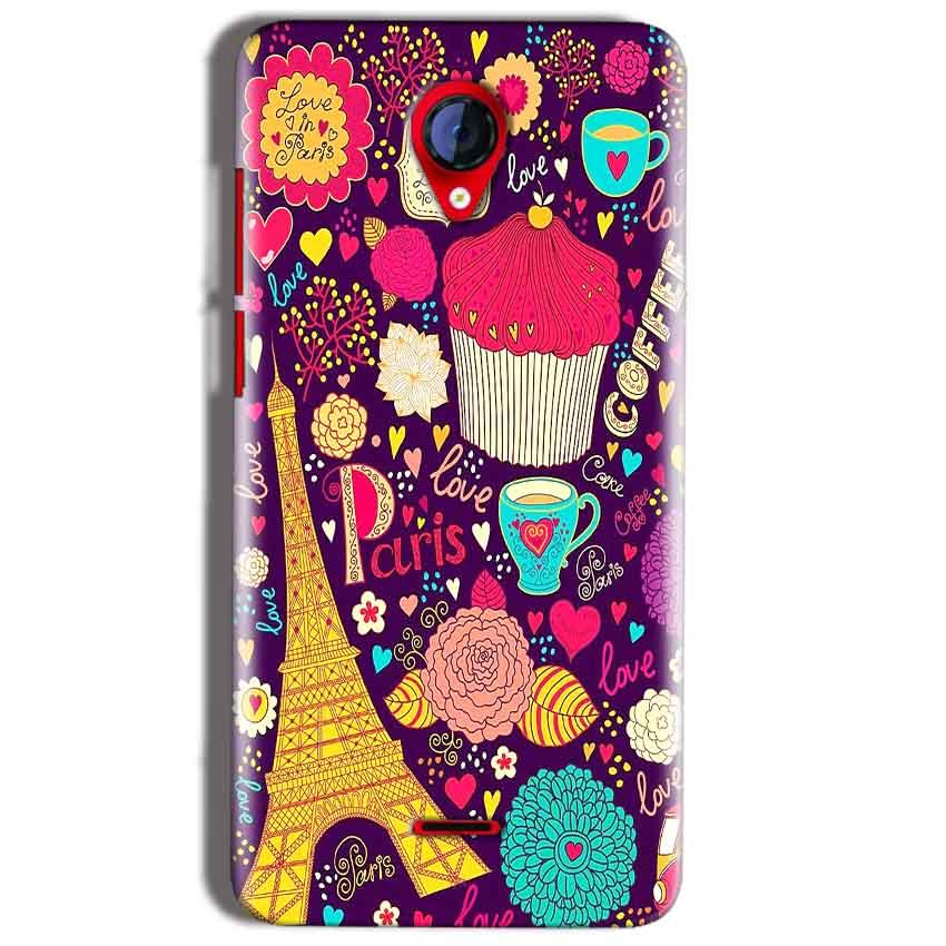 Micromax A106 Unite 2 Mobile Covers Cases Paris Sweet love - Lowest Price - Paybydaddy.com