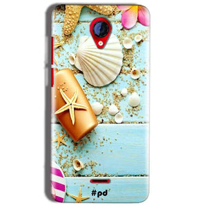 Micromax A106 Unite 2 Mobile Covers Cases Pearl Star Fish - Lowest Price - Paybydaddy.com