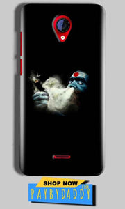 Micromax A106 Unite 2 Mobile Covers Cases Shiva Aghori Smoking - Lowest Price - Paybydaddy.com