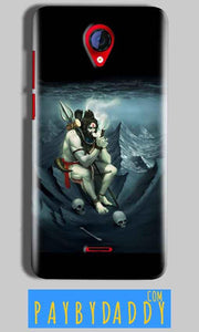 Micromax A106 Unite 2 Mobile Covers Cases Shiva Smoking - Lowest Price - Paybydaddy.com