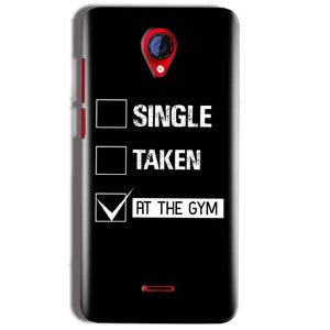 Micromax A106 Unite 2 Mobile Covers Cases Single Taken At The Gym - Lowest Price - Paybydaddy.com