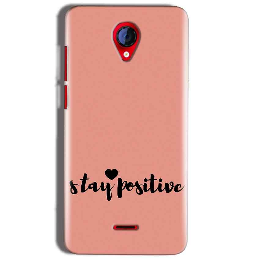 Micromax A106 Unite 2 Mobile Covers Cases Stay Positive - Lowest Price - Paybydaddy.com