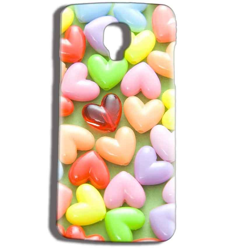 Micromax Bolt Q325 Mobile Covers Cases Heart in Candy - Lowest Price - Paybydaddy.com
