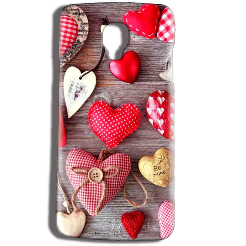 Micromax Bolt Q325 Mobile Covers Cases Hearts- Lowest Price - Paybydaddy.com