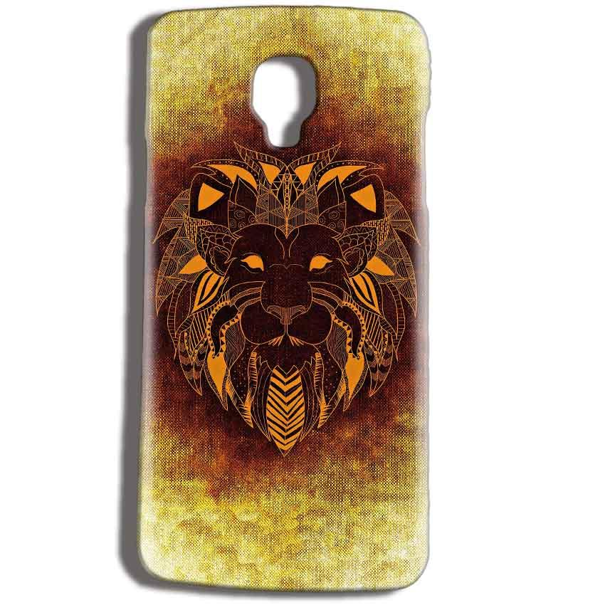 Micromax Bolt Q325 Mobile Covers Cases Lion face art - Lowest Price - Paybydaddy.com