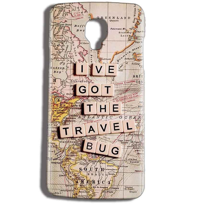 Micromax Bolt Q325 Mobile Covers Cases Live Travel Bug - Lowest Price - Paybydaddy.com
