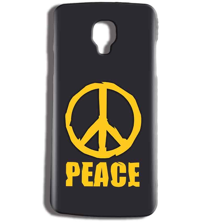 Micromax Bolt Q325 Mobile Covers Cases Peace Blue Yellow - Lowest Price - Paybydaddy.com