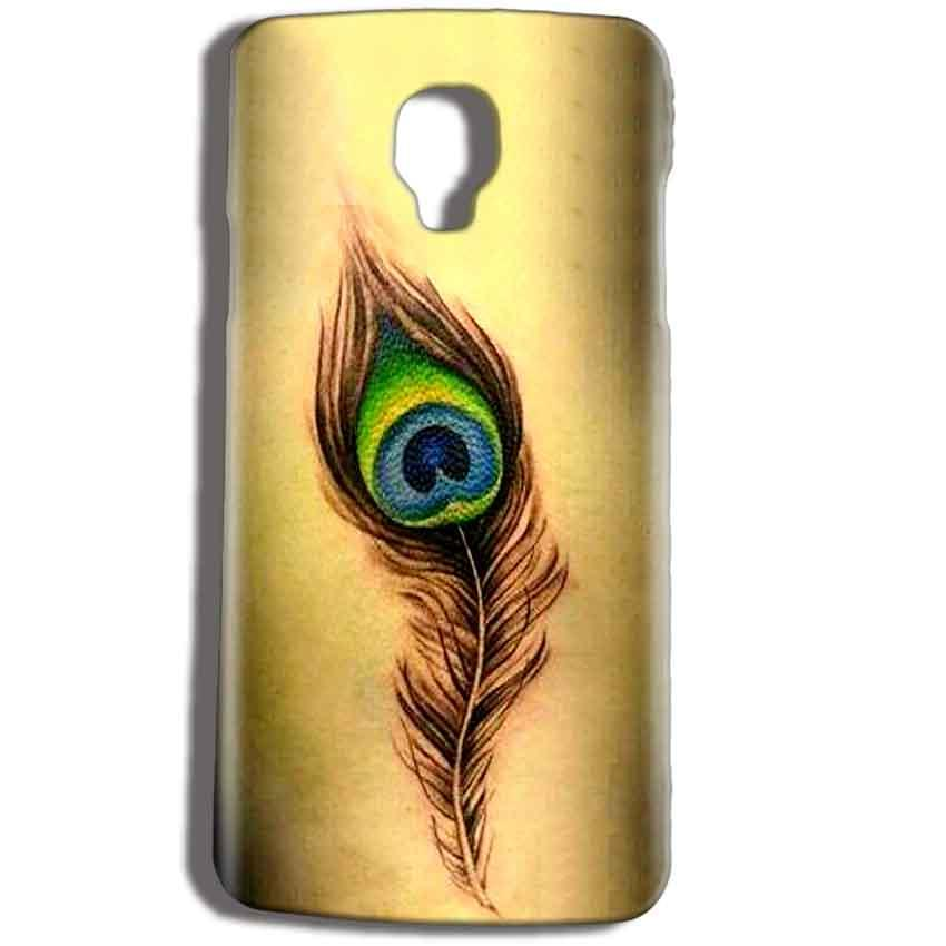 Micromax Bolt Q325 Mobile Covers Cases Peacock coloured art - Lowest Price - Paybydaddy.com