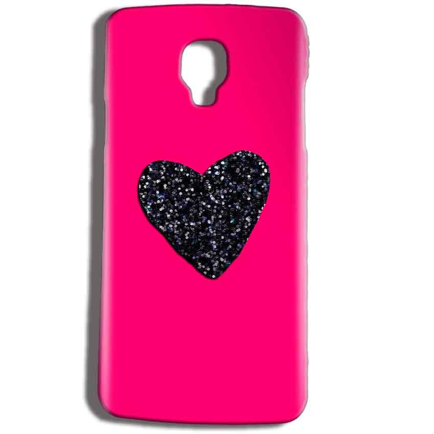 Micromax Bolt Q325 Mobile Covers Cases Pink Glitter Heart - Lowest Price - Paybydaddy.com