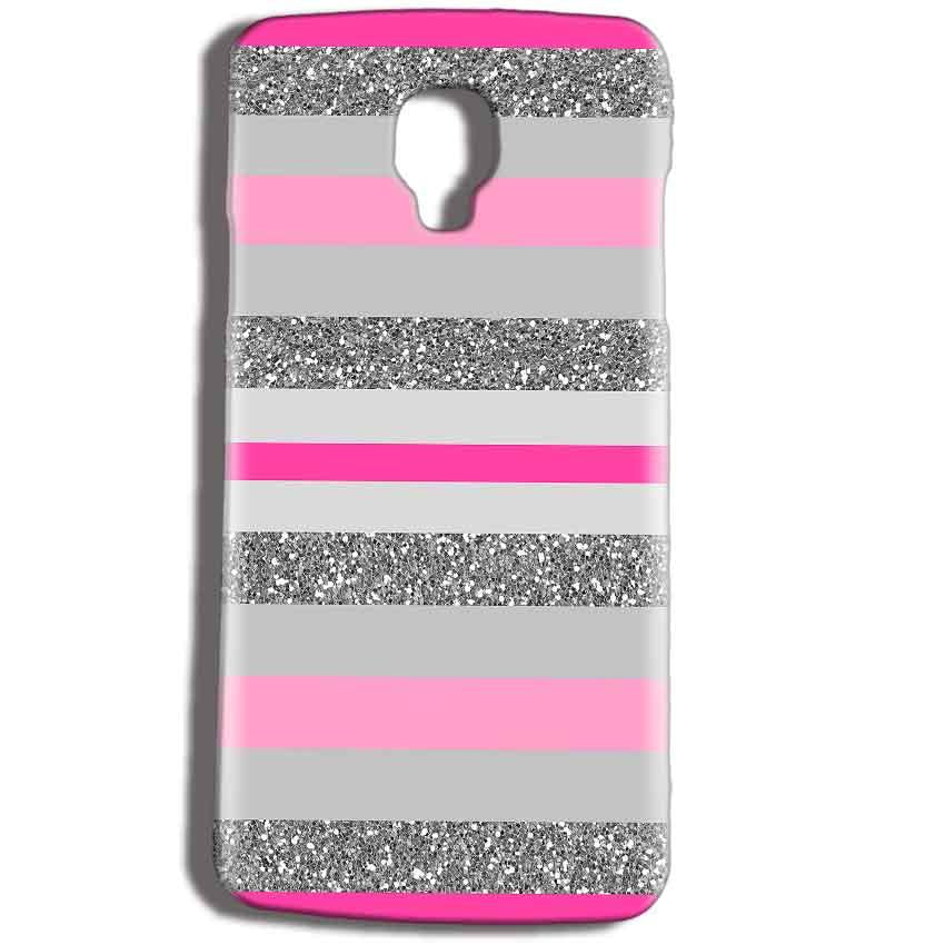 Micromax Bolt Q325 Mobile Covers Cases Pink colour pattern - Lowest Price - Paybydaddy.com