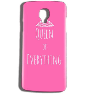 Micromax Bolt Q325 Mobile Covers Cases Queen Of Everything Pink White - Lowest Price - Paybydaddy.com