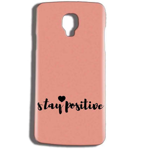 Micromax Bolt Q325 Mobile Covers Cases Stay Positive - Lowest Price - Paybydaddy.com