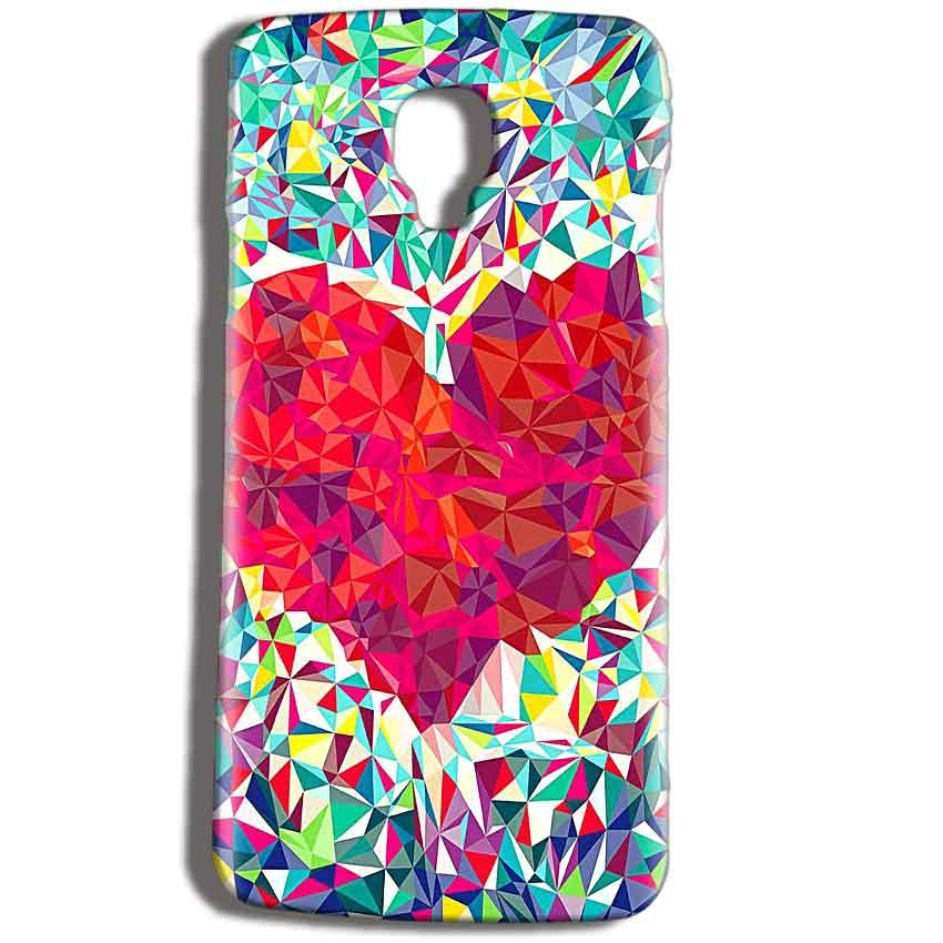 Micromax Bolt Q325 Mobile Covers Cases heart Prisma design - Lowest Price - Paybydaddy.com
