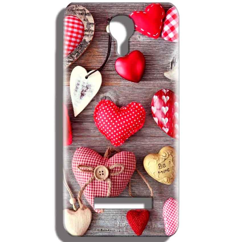 Micromax Bolt Q331 Mobile Covers Cases Hearts- Lowest Price - Paybydaddy.com
