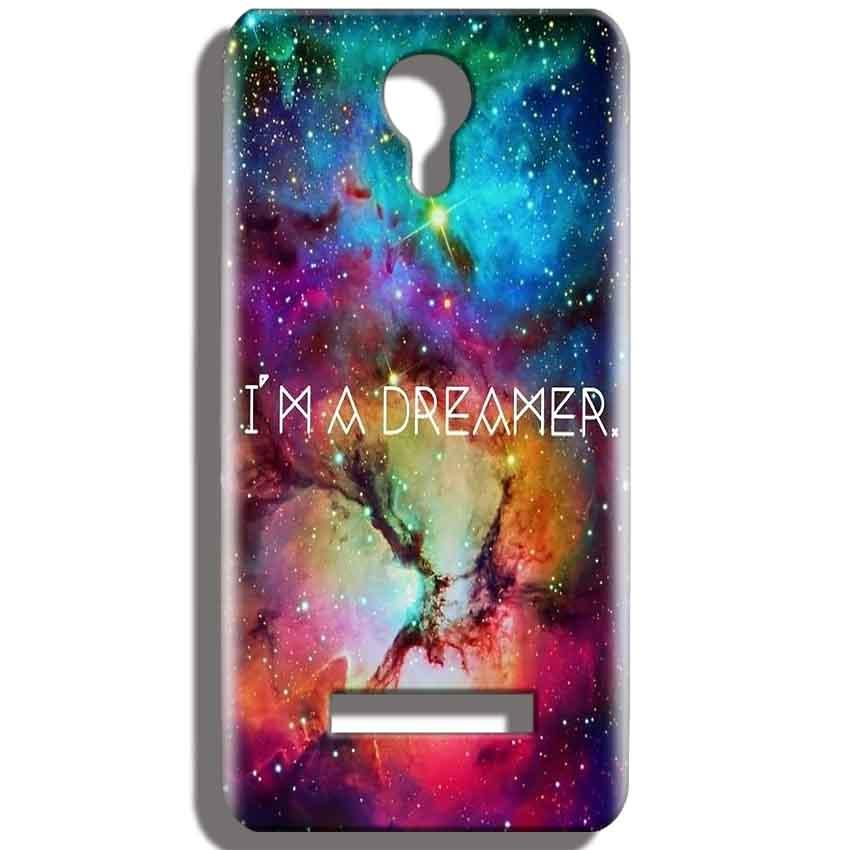 Micromax Bolt Q331 Mobile Covers Cases I am Dreamer - Lowest Price - Paybydaddy.com