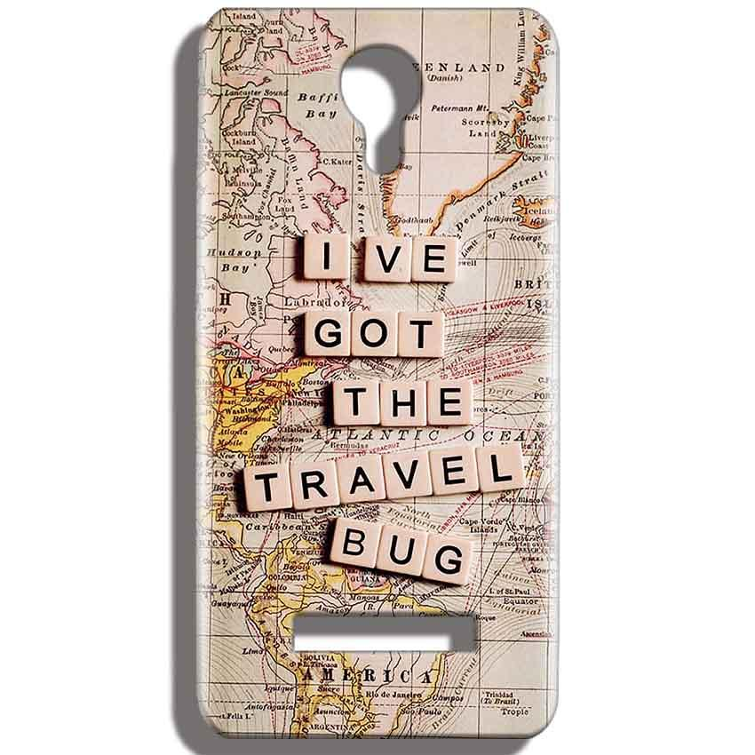 Micromax Bolt Q331 Mobile Covers Cases Live Travel Bug - Lowest Price - Paybydaddy.com