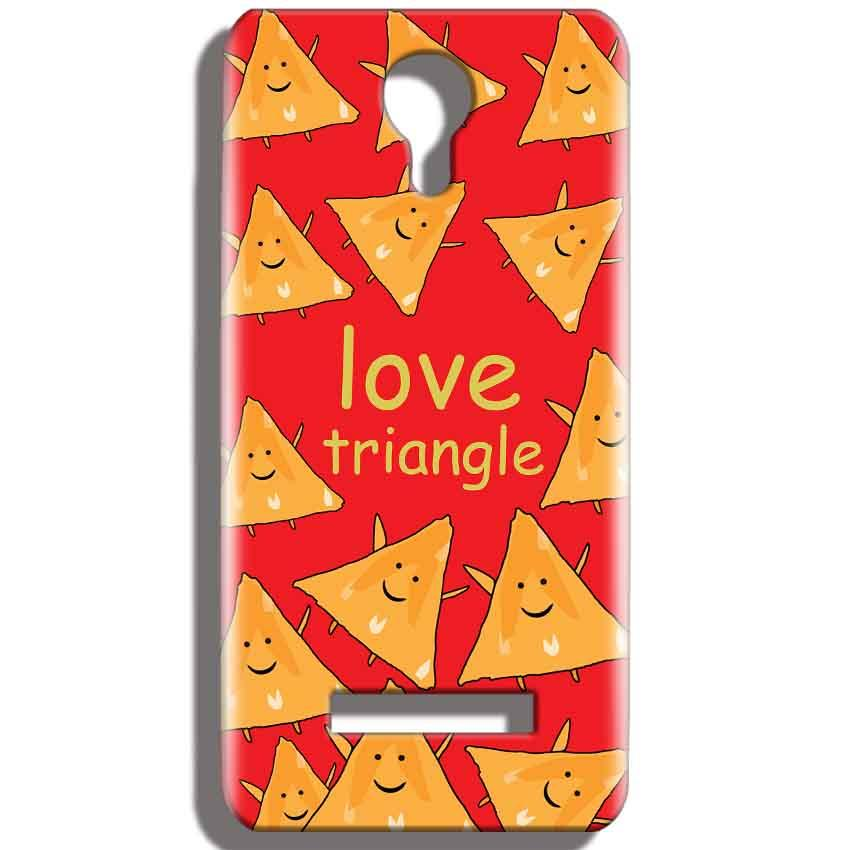 Micromax Bolt Q331 Mobile Covers Cases Love Triangle - Lowest Price - Paybydaddy.com
