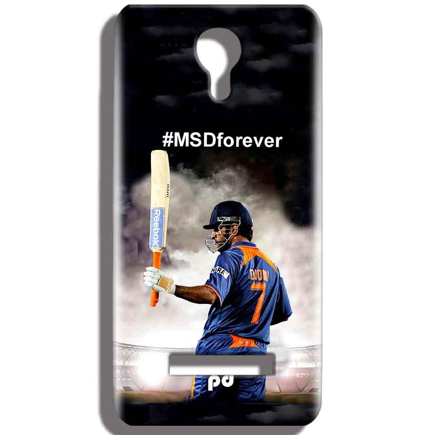 Micromax Bolt Q331 Mobile Covers Cases MS dhoni Forever - Lowest Price - Paybydaddy.com