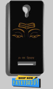 Micromax Bolt Q331 Mobile Covers Cases Om Namaha Gold Black - Lowest Price - Paybydaddy.com