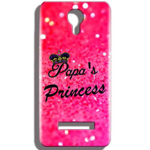 Micromax Bolt Q331 Mobile Covers Cases PAPA PRINCESS - Lowest Price - Paybydaddy.com