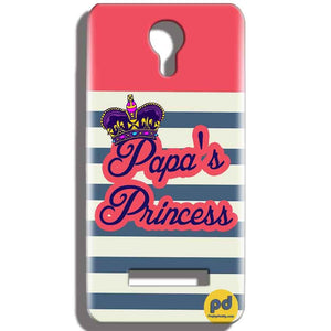 Micromax Bolt Q331 Mobile Covers Cases Papas Princess - Lowest Price - Paybydaddy.com