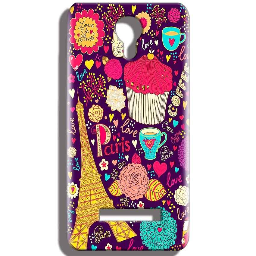 Micromax Bolt Q331 Mobile Covers Cases Paris Sweet love - Lowest Price - Paybydaddy.com