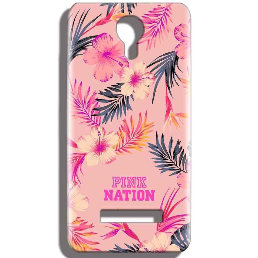 Micromax Bolt Q331 Mobile Covers Cases Pink nation - Lowest Price - Paybydaddy.com