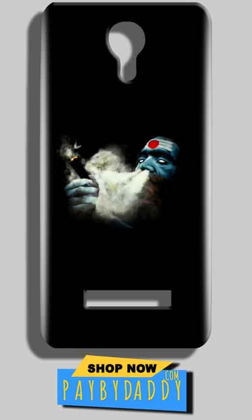 Micromax Bolt Q331 Mobile Covers Cases Shiva Aghori Smoking - Lowest Price - Paybydaddy.com
