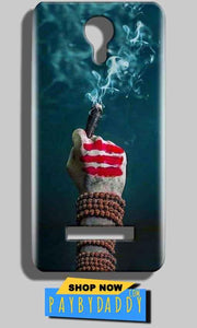 Micromax Bolt Q331 Mobile Covers Cases Shiva Hand With Clilam - Lowest Price - Paybydaddy.com