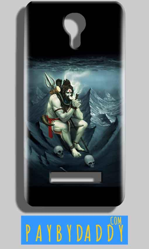 Micromax Bolt Q331 Mobile Covers Cases Shiva Smoking - Lowest Price - Paybydaddy.com