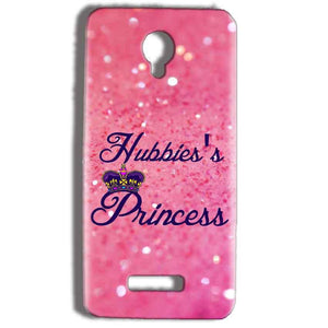 Micromax Bolt Q332 Mobile Covers Cases Hubbies Princess - Lowest Price - Paybydaddy.com