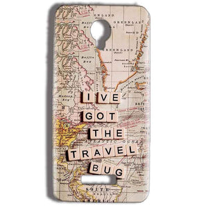 Micromax Bolt Q332 Mobile Covers Cases Live Travel Bug - Lowest Price - Paybydaddy.com