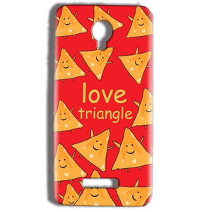 Micromax Bolt Q332 Mobile Covers Cases Love Triangle - Lowest Price - Paybydaddy.com