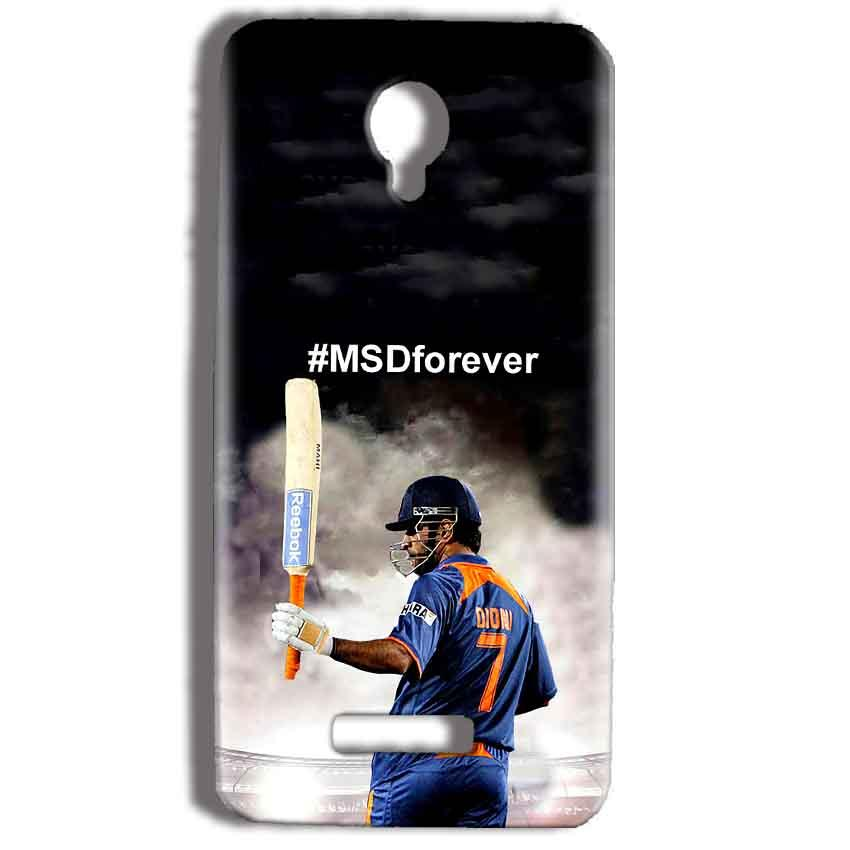 Micromax Bolt Q332 Mobile Covers Cases MS dhoni Forever - Lowest Price - Paybydaddy.com
