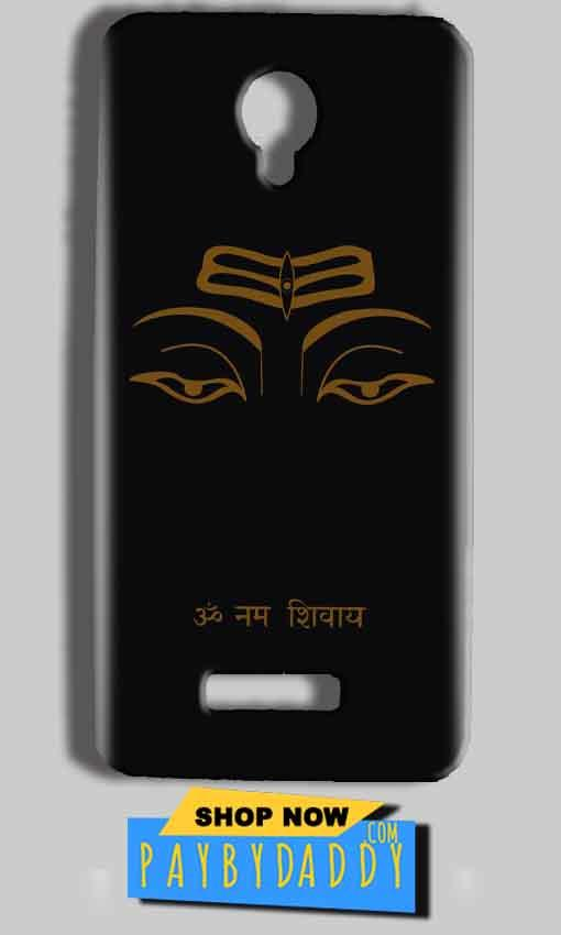 Micromax Bolt Q332 Mobile Covers Cases Om Namaha Gold Black - Lowest Price - Paybydaddy.com
