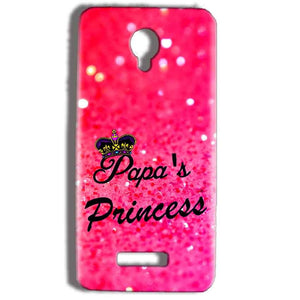 Micromax Bolt Q332 Mobile Covers Cases PAPA PRINCESS - Lowest Price - Paybydaddy.com