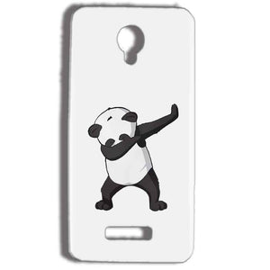 Micromax Bolt Q332 Mobile Covers Cases Panda Dab - Lowest Price - Paybydaddy.com