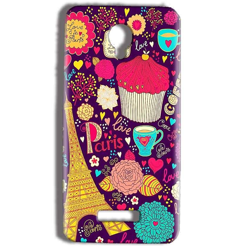 Micromax Bolt Q332 Mobile Covers Cases Paris Sweet love - Lowest Price - Paybydaddy.com