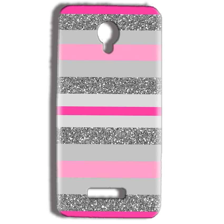 Micromax Bolt Q332 Mobile Covers Cases Pink colour pattern - Lowest Price - Paybydaddy.com