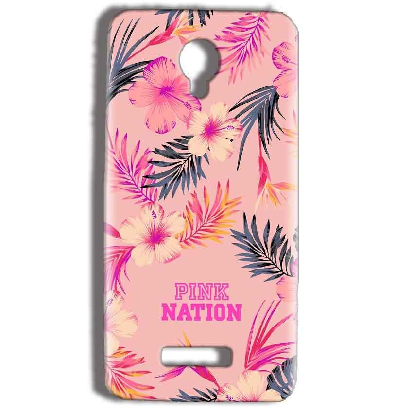 Micromax Bolt Q332 Mobile Covers Cases Pink nation - Lowest Price - Paybydaddy.com