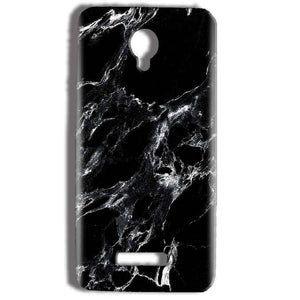 Micromax Bolt Q332 Mobile Covers Cases Pure Black Marble Texture - Lowest Price - Paybydaddy.com