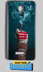 Micromax Bolt Q332 Mobile Covers Cases Shiva Hand With Clilam - Lowest Price - Paybydaddy.com