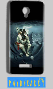Micromax Bolt Q332 Mobile Covers Cases Shiva Smoking - Lowest Price - Paybydaddy.com