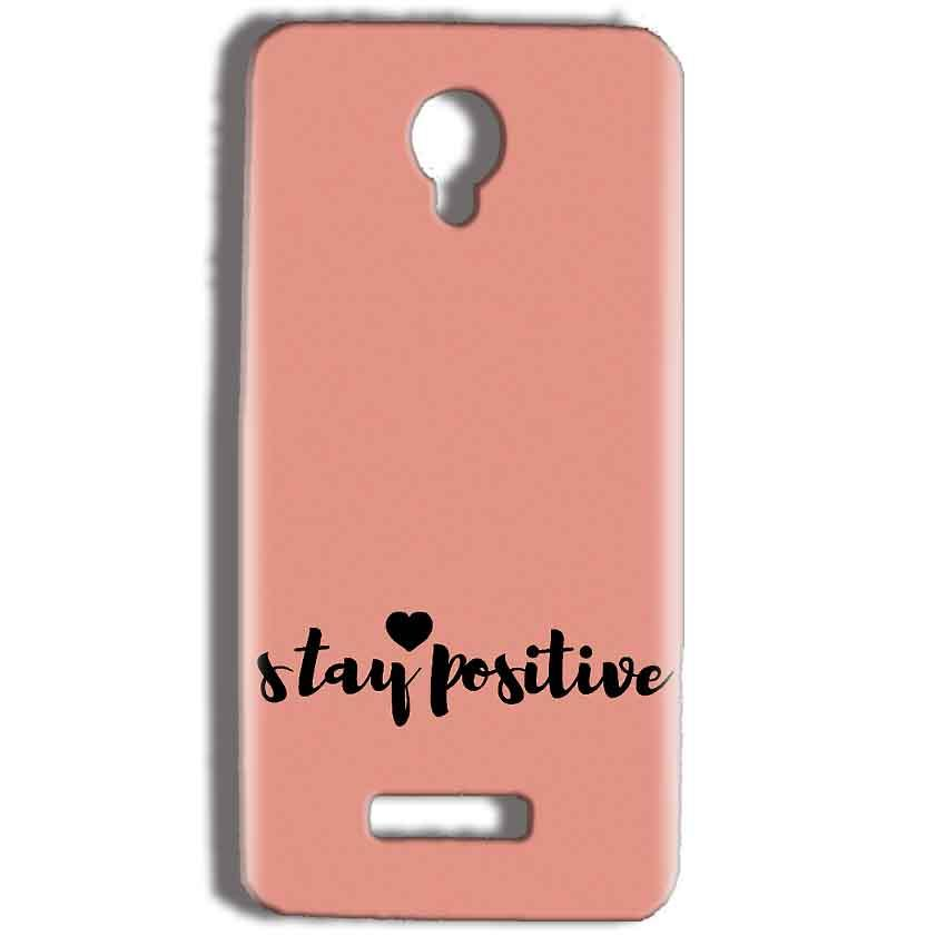 Micromax Bolt Q332 Mobile Covers Cases Stay Positive - Lowest Price - Paybydaddy.com
