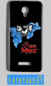 Micromax Bolt Q332 Mobile Covers Cases om namha shivaye with damru - Lowest Price - Paybydaddy.com